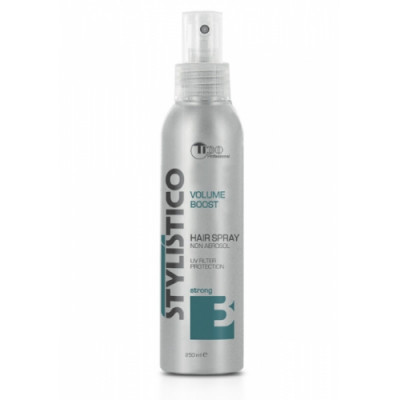 Professional liquid hair spray for strong fixation STYLISTICO VOLUME BOOST (40011)