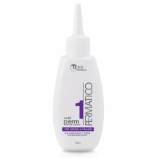 Perm lotion № 1 for normal and thin natural hair 80 ml (50001)