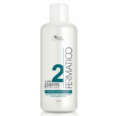 Perm lotion № 2 for died, bleached and sensitive hair 1000 ml (50005)