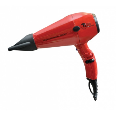 Hair dryer ionic TICO Professional ERGO STRATOS ION RED (100003IONRD)